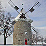 moulin de Pointe-Claire, construit en 1709